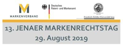 Bild Webseite 13. Jenaer Markenrechtstag 29.08.2019