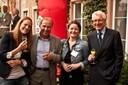 (vlnr) Alumni mit Richard Gretler, Reemtsma Cigarettenfabriken GmbH, und Friedrich Neukirch, MCM Klosterfrau