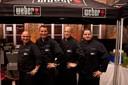 Das Grillteam der BBQ-Academy der Firma Weber