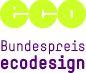 Logo Bundespreis ecodesign