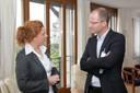 Dr. Barbara Brandstetter (Jury), Karsten Seibel (3. Platz)