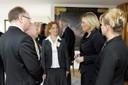Dr. Jörg Schillinger, Werner Zedler, Prof. Barbara Brandstetter, Julia Klöckner, Ilona Hermann (v.l.)