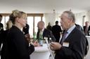 im Gespräch: Ilona Hermann und Prof. Dr. Siegfried Quandt