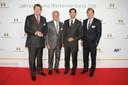 Dr. Reinhard Christian Zinkann, Franz-Peter Falke, Dr. Philipp Rösler, Uwe Bergheim