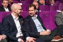 Referenten im Gespräch: Dr. Lauri Reuter und Jens Monsees
